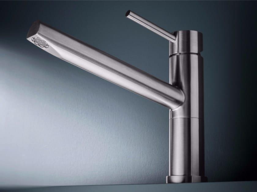 1 hole stainless steel kitchen mixer tap CUC97 | Kitchen mixer tap - Radomonte