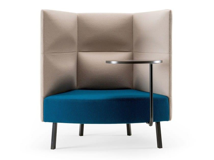 Guest chair high-back CUMULUS   Easy chair - Sedes Regia