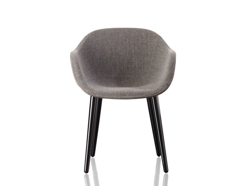 Upholstered fabric easy chair with armrests CYBORG LADY - Magis