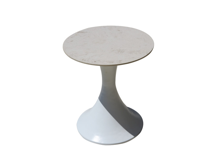 Tavolino da giardino di servizio per contract CYLINDER 23247 - SKYLINE design