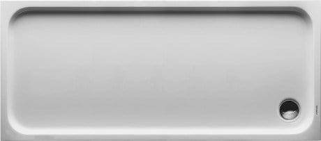 Rectangular acrylic shower tray D-CODE | 170 x 75 by Duravit