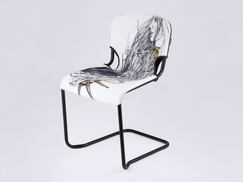 Cantilever chair D-LIGHT BEAUTY AND THE BEAST - KUBIKOFF