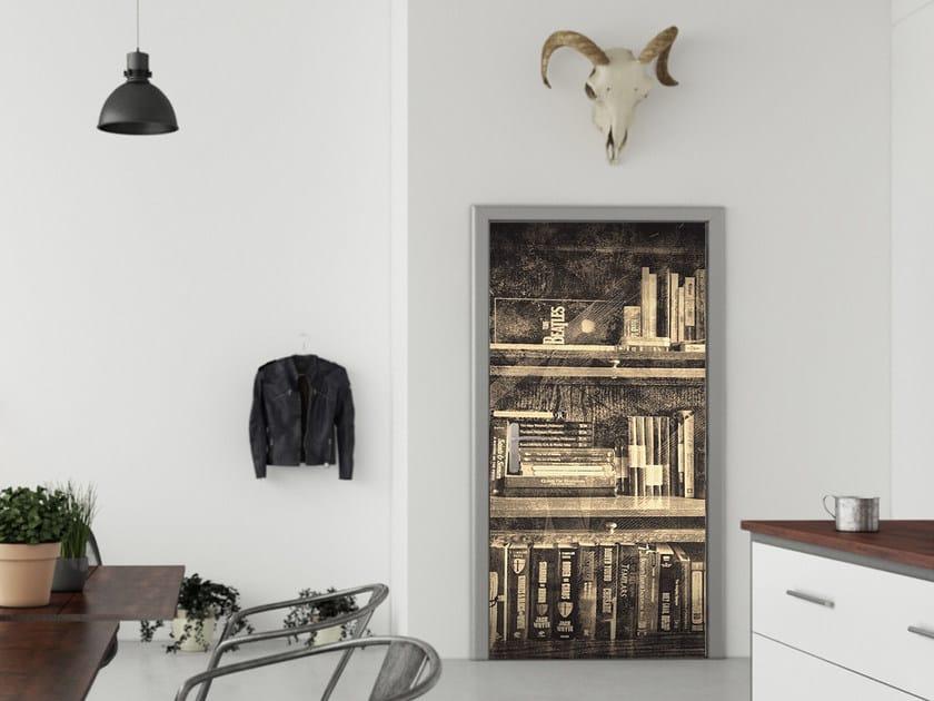 Adesivo per porte d027 adesivo per porte creativespace - Porte decorate adesivi ...