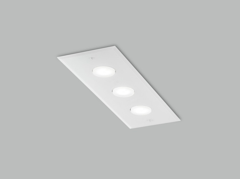LED glass ceiling lamp DADO L 60 x 20 by Metal Lux