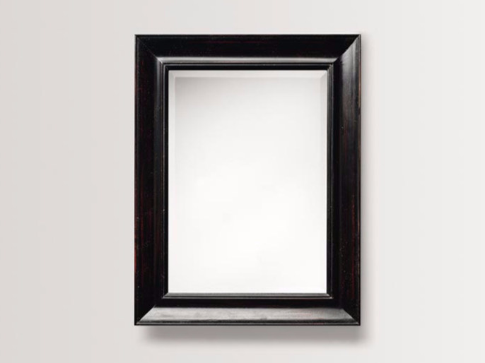 Specchio rettangolare a parete con cornice DAHLIA - BATH&BATH