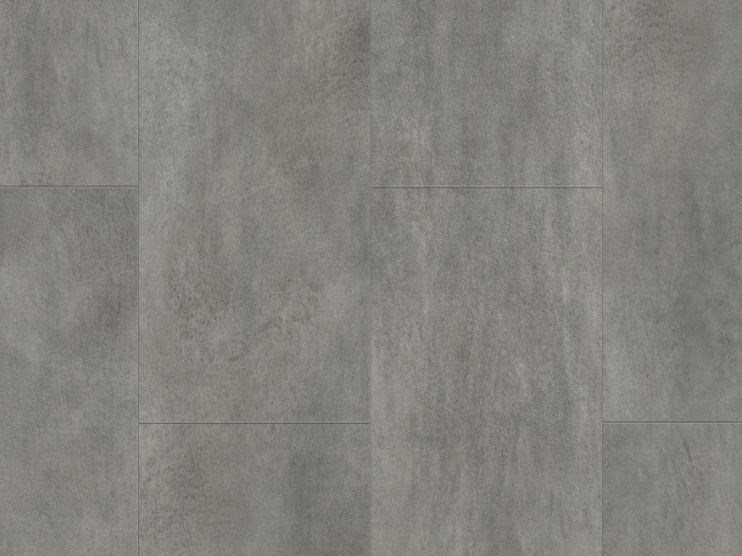 Vinyl Flooring With Concrete Effect Dark Grey Concrete