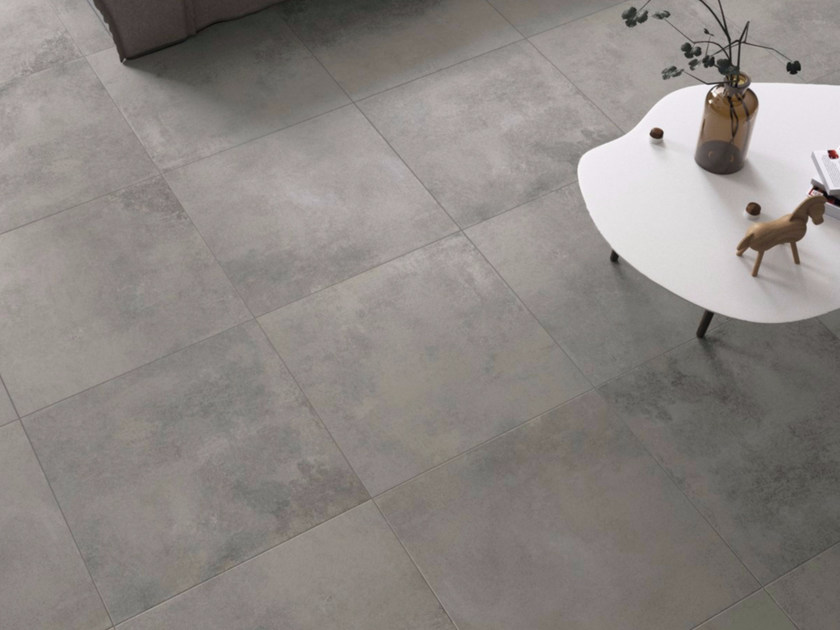 Porcelain stoneware flooring DARK GREY - GranitiFiandre