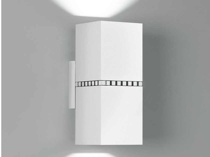 LED wall light DAU DOBLE SPOT LED 6478 by Milan Iluminación