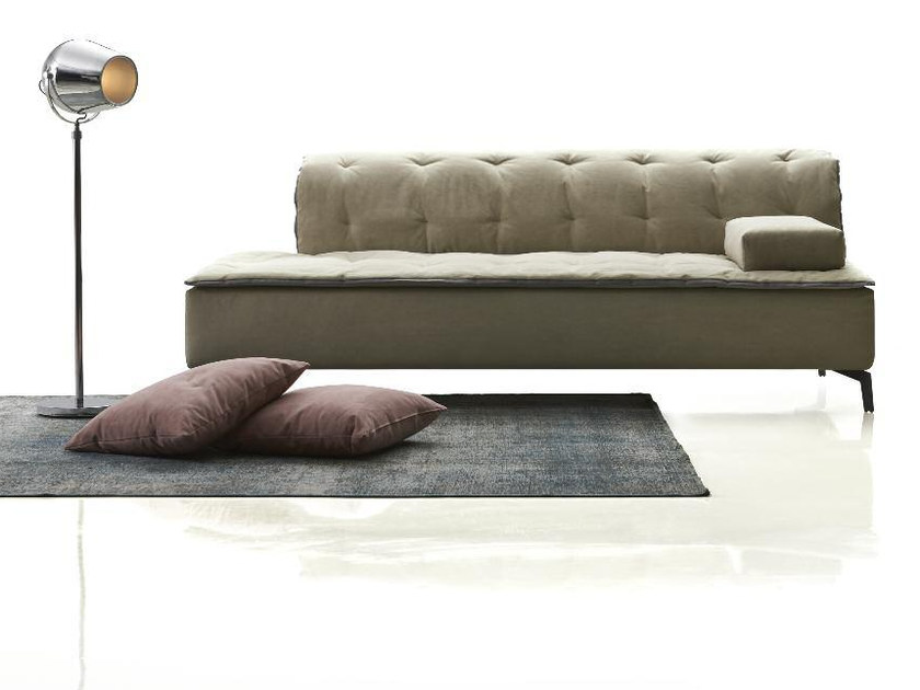Tufted upholstered fabric day bed BELLINI | Day bed by Papadatos