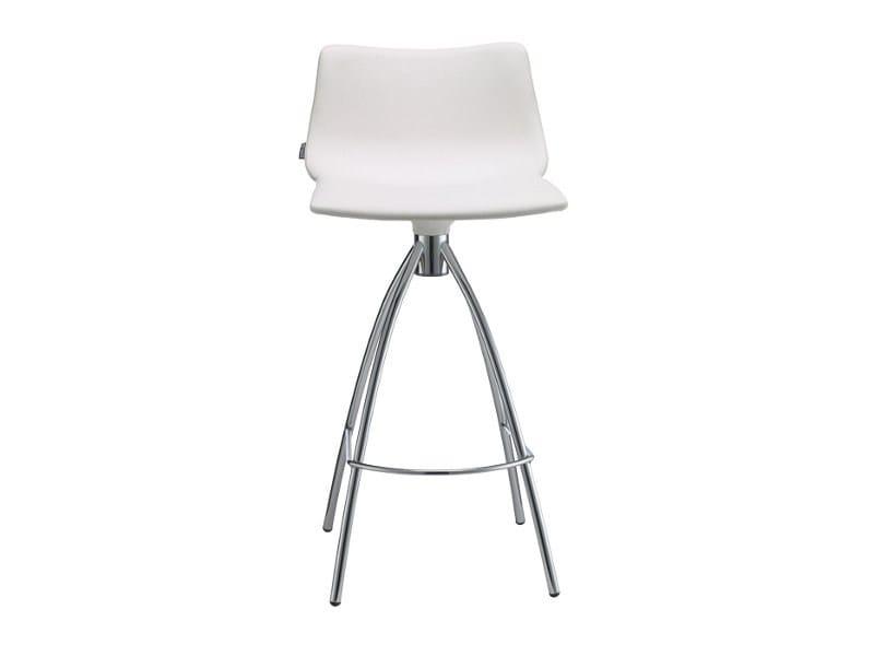 Upholstered stool DAYLIGHT POP H65 - SCAB DESIGN