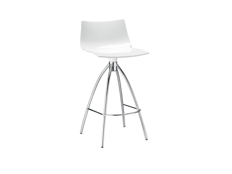 Low polycarbonate stool DAYLIGHT by SCAB DESIGN