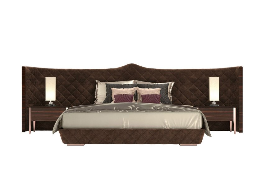 Double bed with upholstered headboard DAYTONA - Capital Collection by Atmosphera