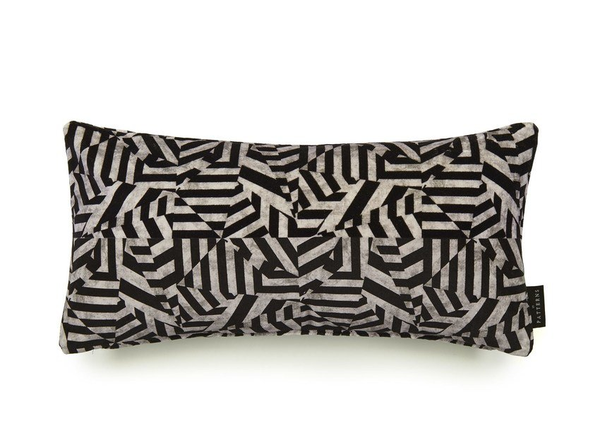 Rectangular cotton cushion with removable cover DAZZLE | Rectangular cushion by 17 patterns