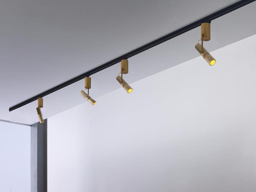 Illuminazione a binario a LED in alluminio DECÒ   Illuminazione a binario by GLIP by S.I.L.E