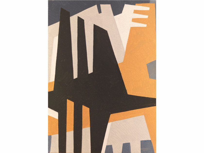 Canvas print N°13 ASTRATTISMO CLASSICO - KUBIKOFF