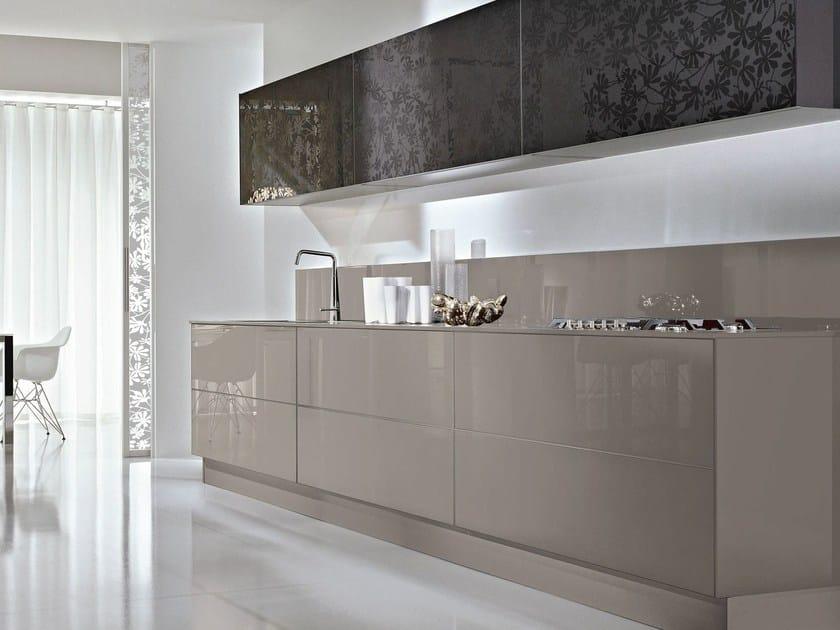 Decorated glass furniture foil DECORFLOU® DESIGN TR - OmniDecor®
