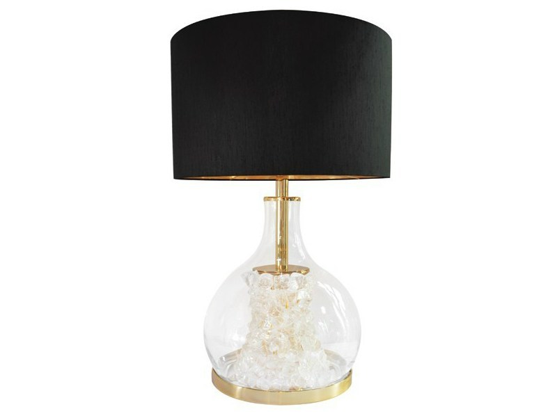 Blown glass table lamp DEFROST | Table lamp - CreativeMary