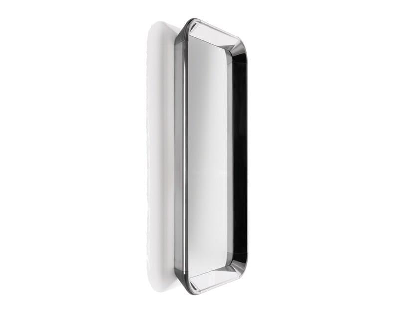 Wall-mounted framed rectangular mirror DEJÀ-VU | Rectangular mirror by Magis