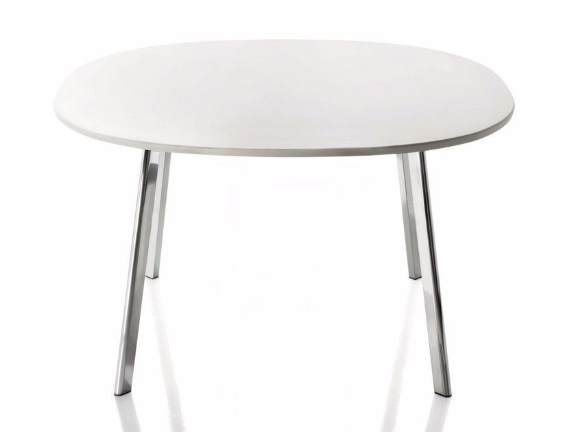 Round HPL table DEJÀ-VU | Round table - Magis