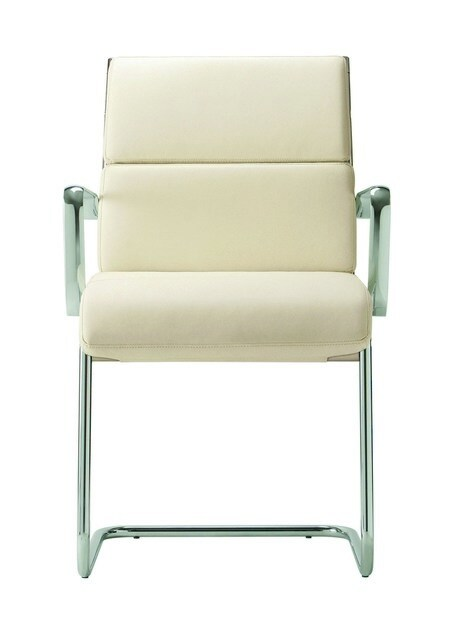 Cantilever upholstered chair DEKORA PLUS | Cantilever chair - Quadrifoglio Sistemi d'Arredo