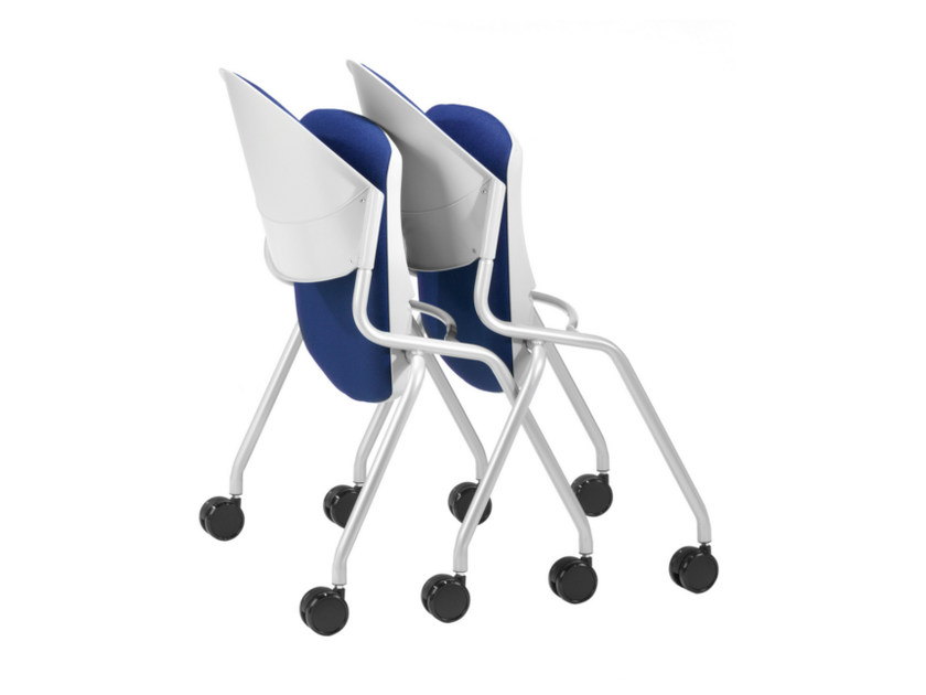 Task chair with casters DELFI 088 R S - TALIN
