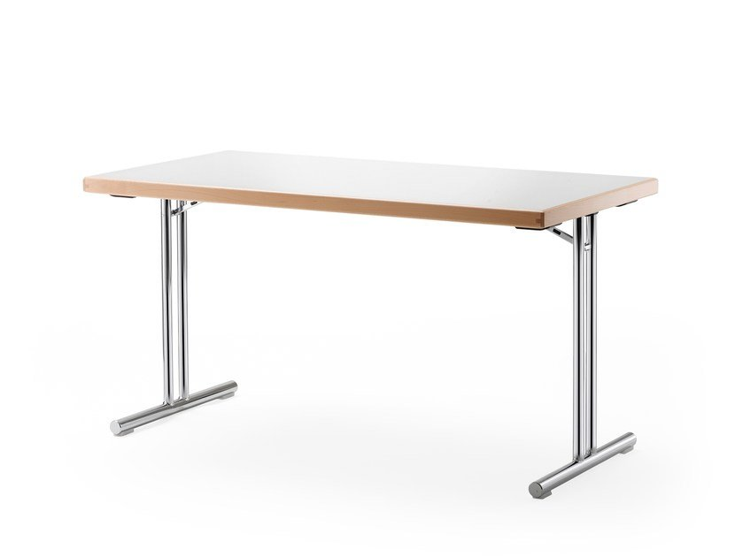 Folding rectangular table DELTA 105 by rosconi