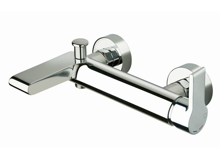 Wall-mounted bathtub mixer DELTA | Bathtub mixer - CRISTINA Rubinetterie