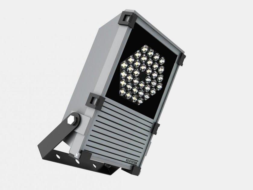 LED adjustable die cast aluminium Outdoor floodlight DELTA by ES-SYSTEM