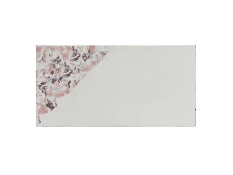 Cement flooring DELTA WHITE PURPLE - enticdesigns