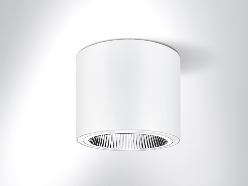 LED aluminium ceiling light DEMO - Arcluce