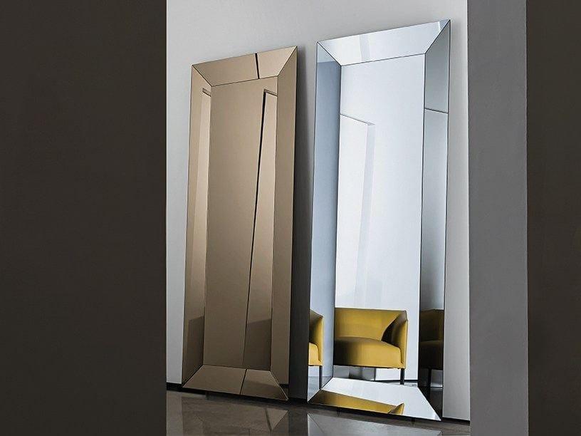 Rectangular framed mirror DENVER RECTANGULAR - SOVET ITALIA