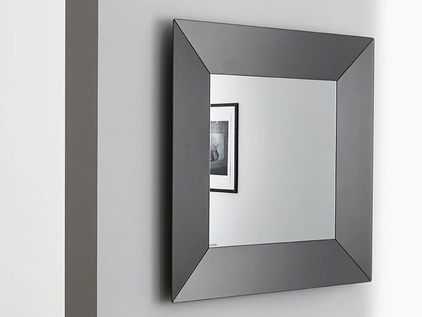 Square framed mirror DENVER SQUARE - SOVET ITALIA