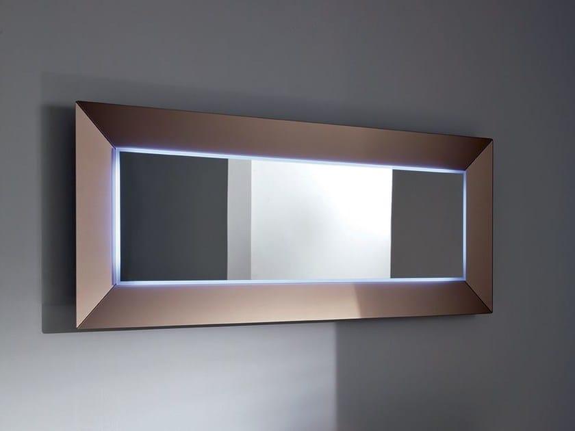 Specchio rettangolare con illuminazione integrata DENVER UP | Specchio rettangolare - SOVET ITALIA