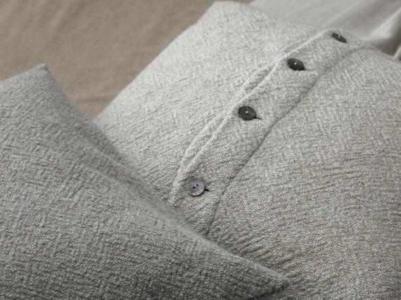 Wool melange cushion DES - Society Limonta