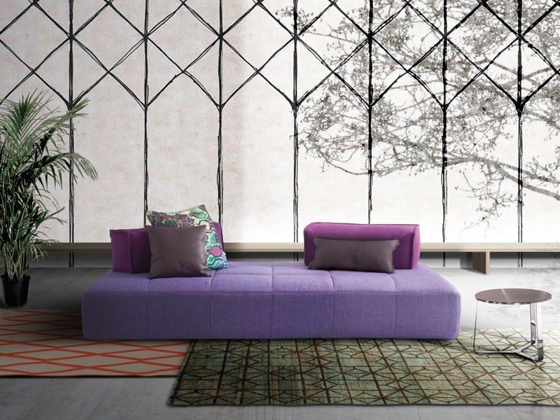 Fabric sofa with removable cover MOSS | Sofa - Divanidea