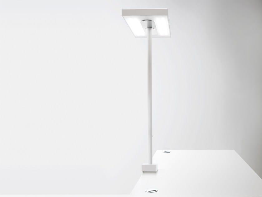 Aluminium desk lamp LINEA | Desk lamp - Quadrifoglio Sistemi d'Arredo