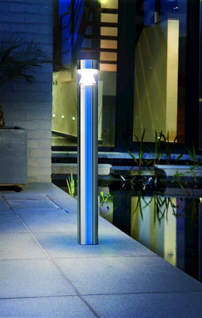 LED metal bollard light DESPO FL - BEL-LIGHTING