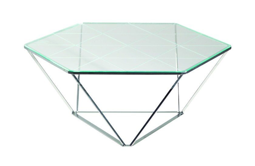 Coffee table for living room DIAMOND - ROCHE BOBOIS