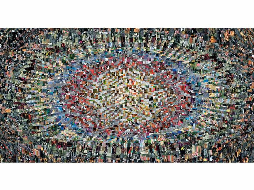 Rectangular fabric rug DIARY by moooi