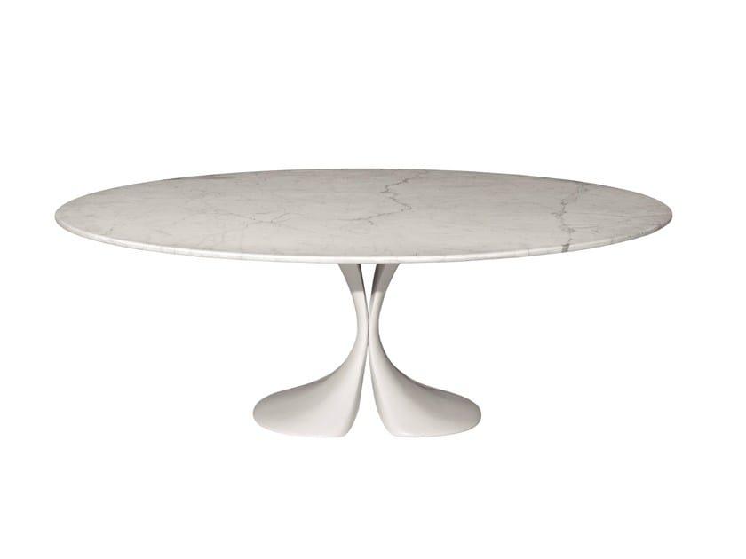 Marble table DIDYMOS - Driade