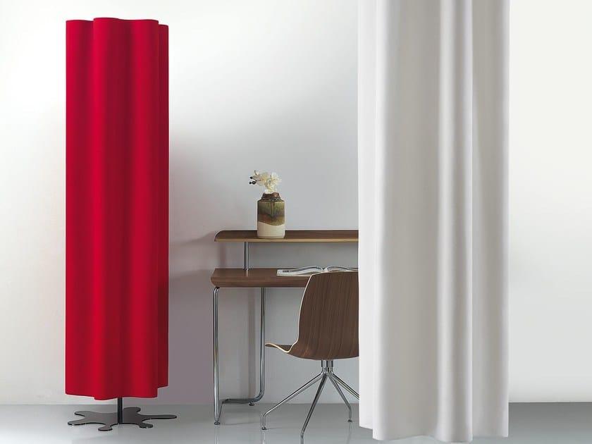 Decorative acoustical panels DIESIS FREESTANDING - Caimi Brevetti