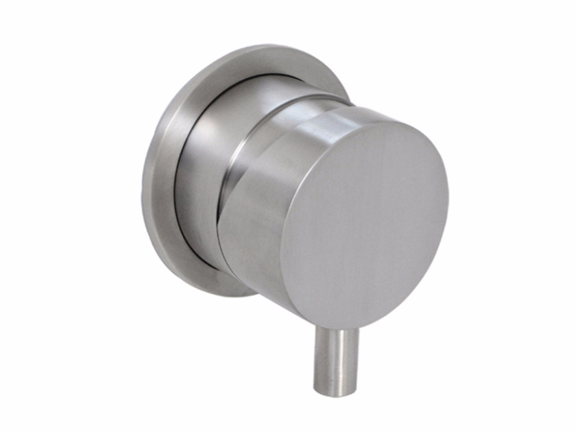 Wall-mounted remote control tap DIMENSIONE74 | Wall-mounted remote control tap - MINA