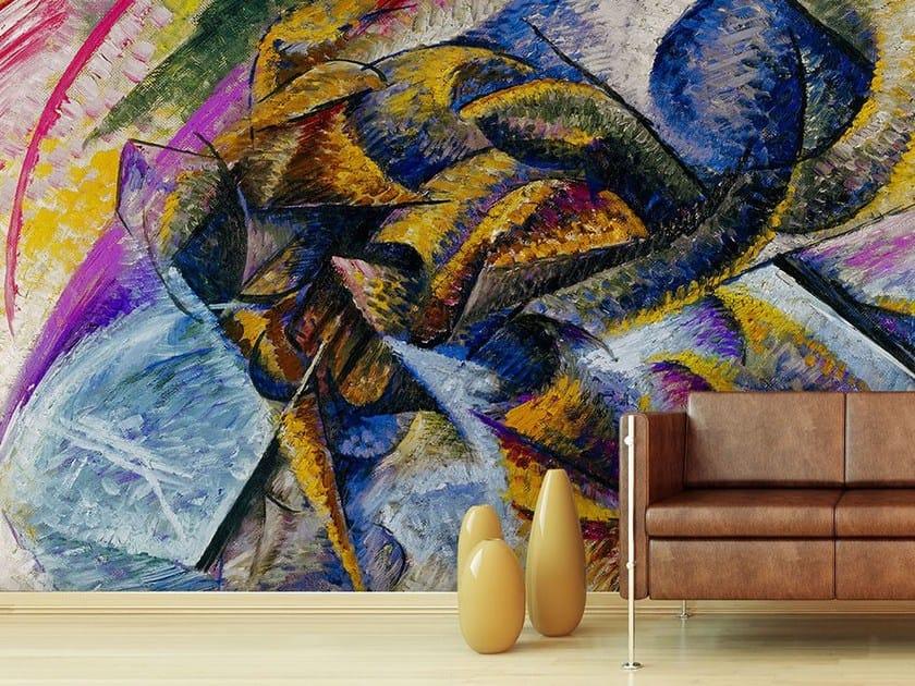 Wallpaper DINAMISMO DI UN CICLISTA - Wallpepper