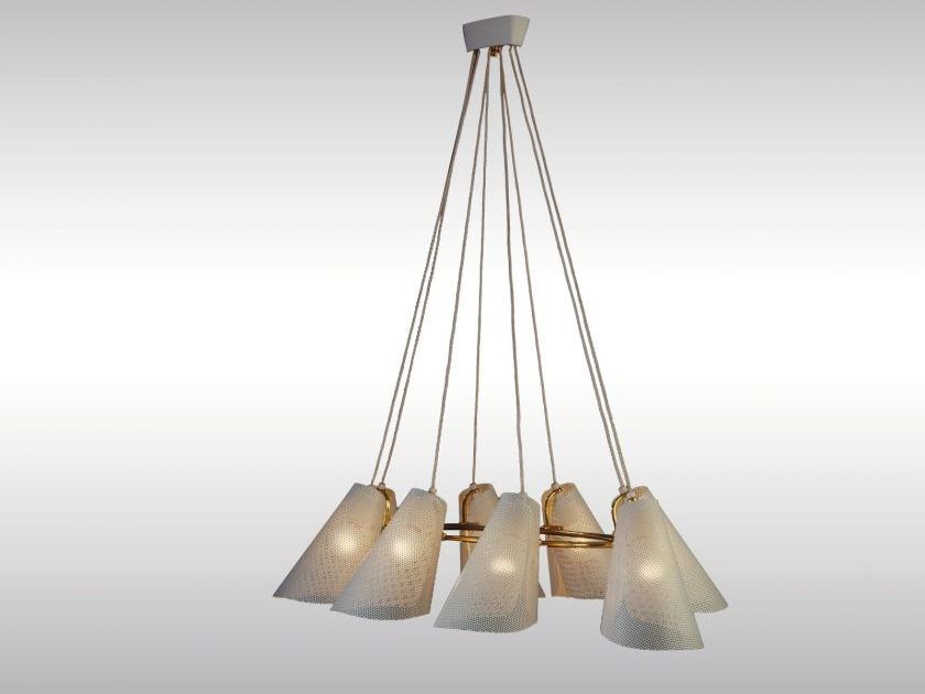 Classic style metal pendant lamp DINERS - Woka Lamps Vienna
