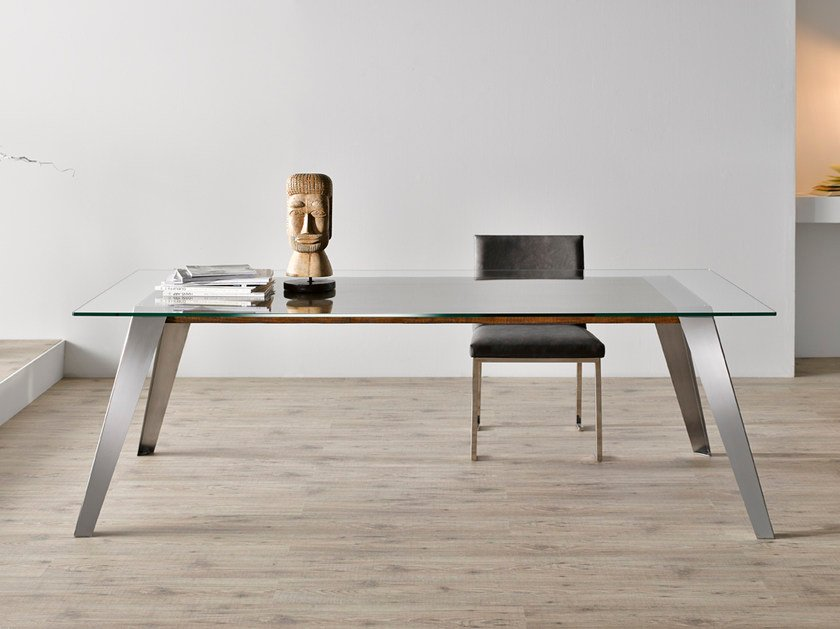 style rectangular stainless steel dining table nordic dining table by altinox