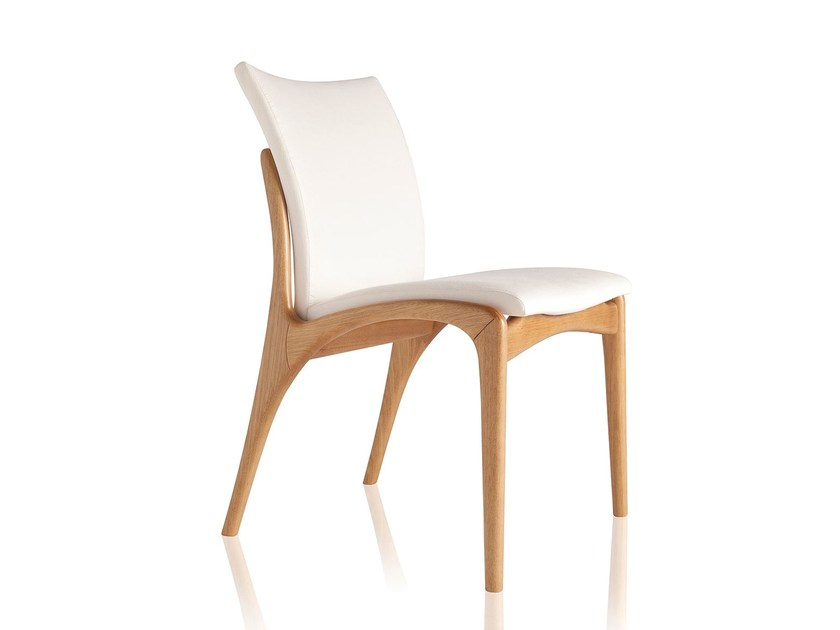 Upholstered fabric chair DINNA 147 by Sollos