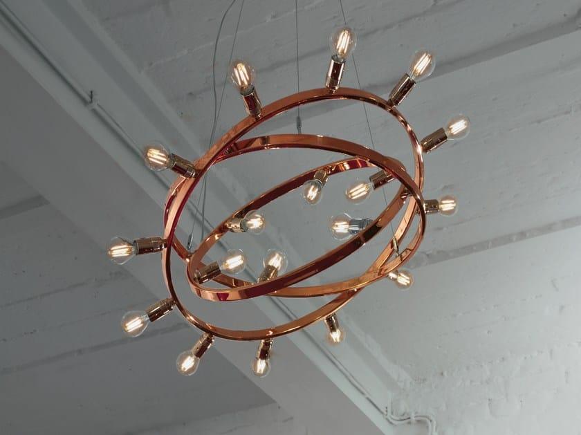 Metal pendant lamp DIONE | Copper pendant lamp - LICHT IM RAUM