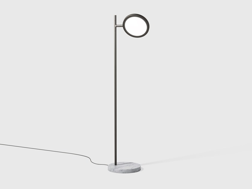 Adjustable floor lamp DISCUS | Floor lamp - Matter Made