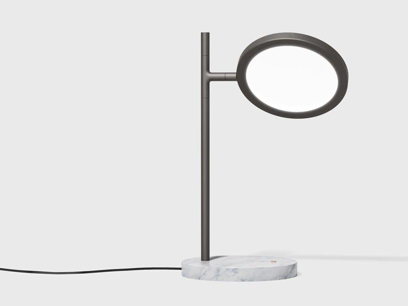 Lampada da tavolo orientabile DISCUS | Lampada da tavolo - Matter Made