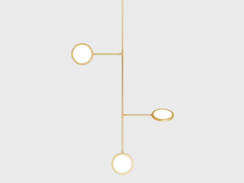 Pendant lamp DISCUS VINE 3 - Matter Made